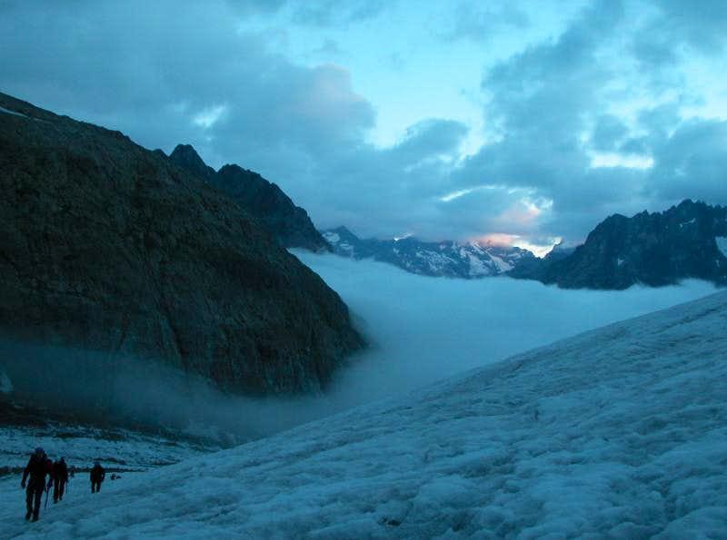 Ecrins > Glacier de la Pilatte