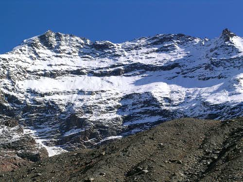 Lagginhorn West face