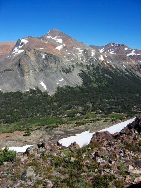 Mount Dana as seen from near...