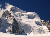 Barre des Ecrins and the Dome de Neige