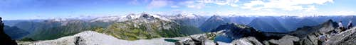 Hidden Lake Peaks 360°  View