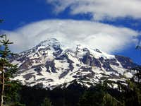 Mt. Rainier from the drive...