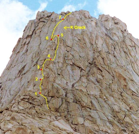 South Buttress (5.6)