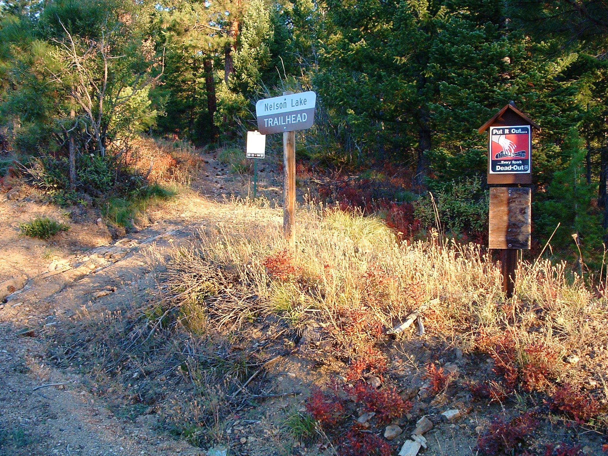 Nelson Lake Trailhead