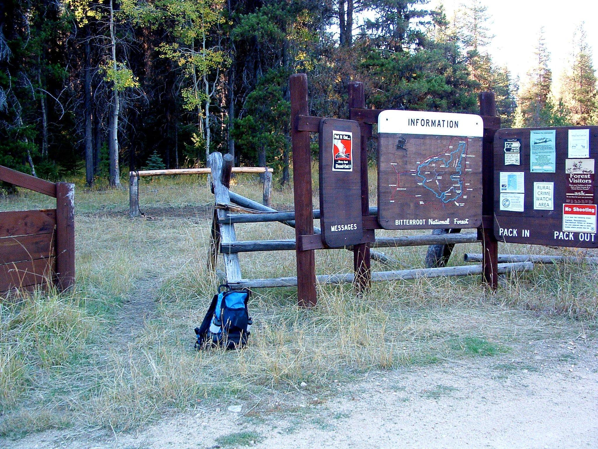 Watchtower Creek Trailhead