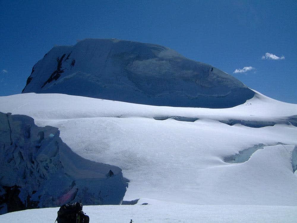 'Ice Arrete' route of Resplendent Mountain