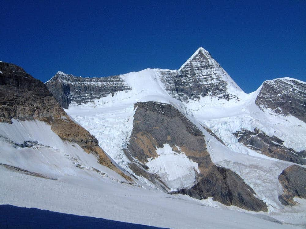 Majestic northeast side of Mount Robson