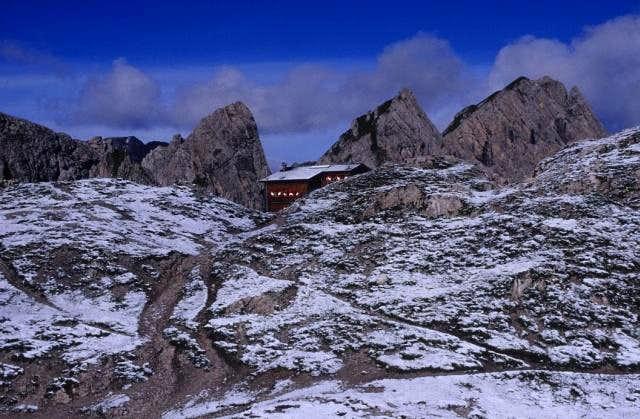 Karlsbader Hütte - Kl. Gamswiesenspitz (Lienzer Dolomiten)