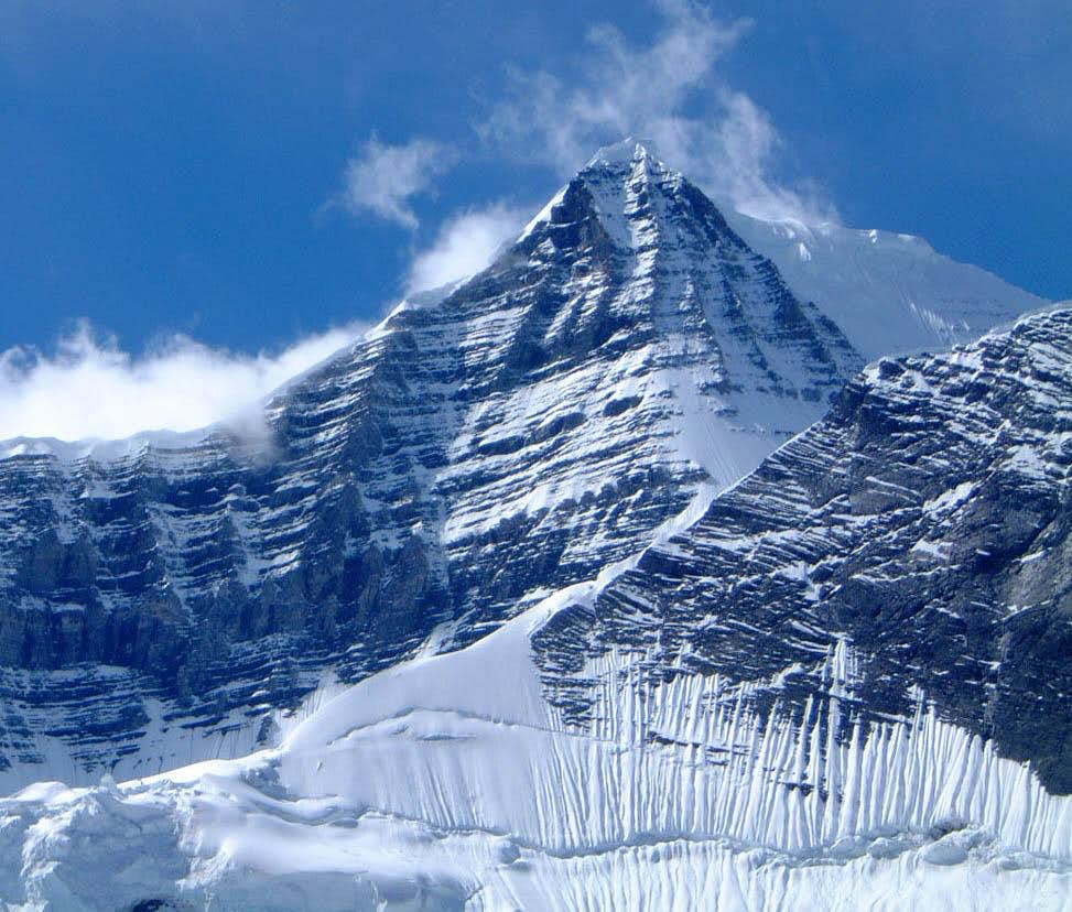 East face of Mount Robson