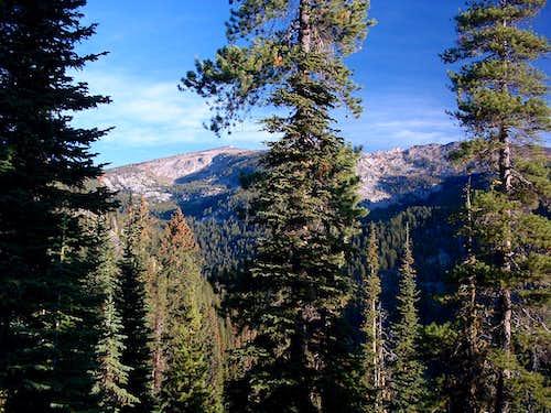 Boulder Peak from Bare Peak Route