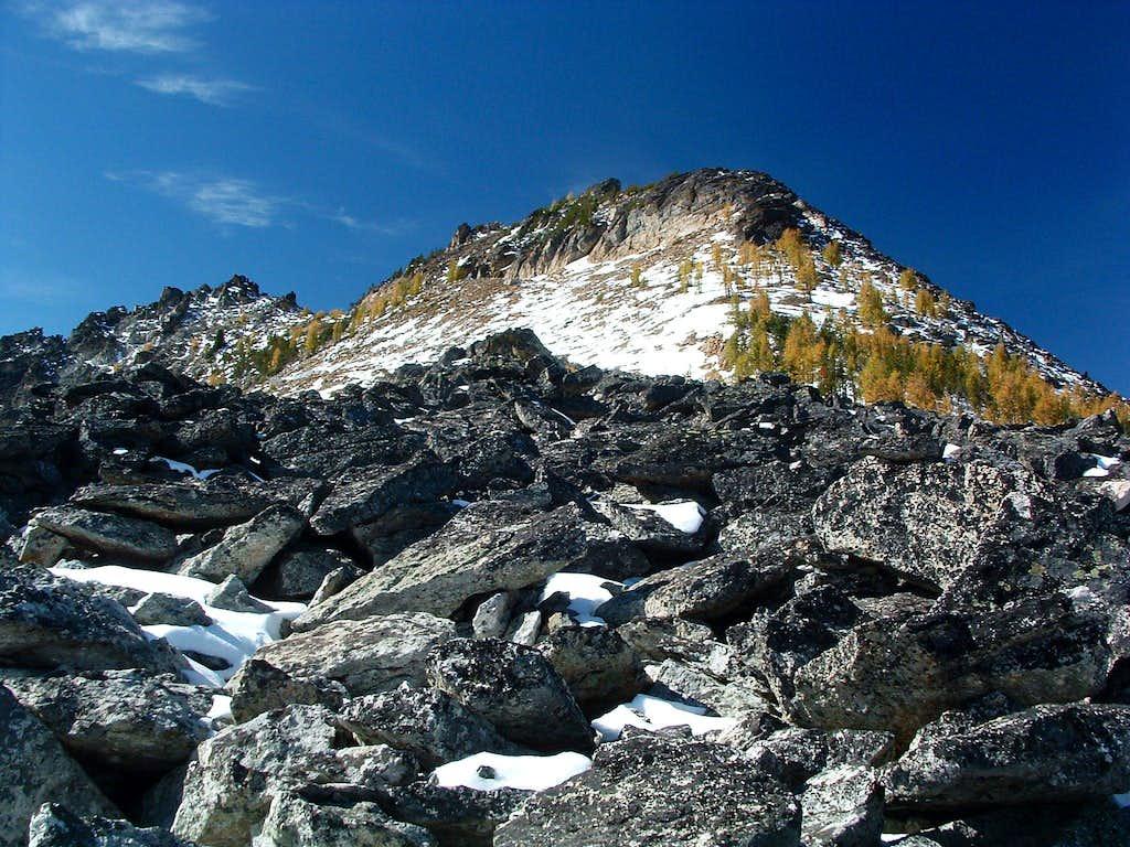Bare Peak's Northeast Ridge-Crest