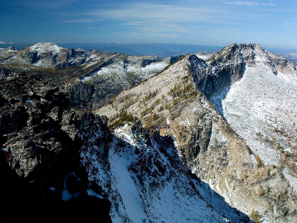 Ridge to West Bare Peak