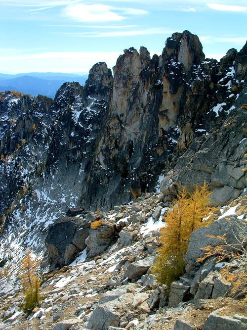 North Side of Crux