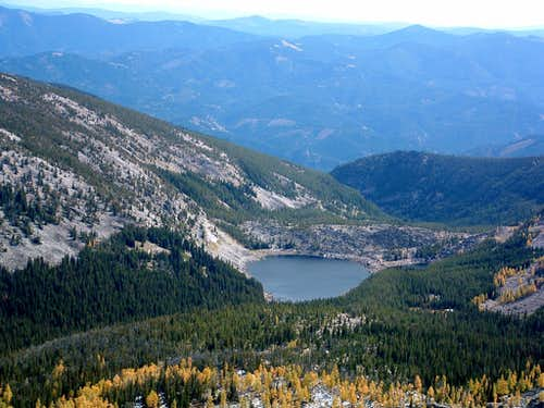 Nelson Lake from Northeast Ridge