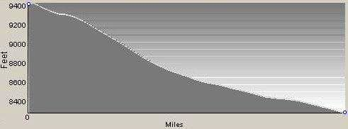 Profile of Descent from Bare Peak