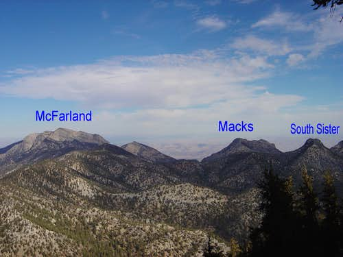 McFarland and other peaks