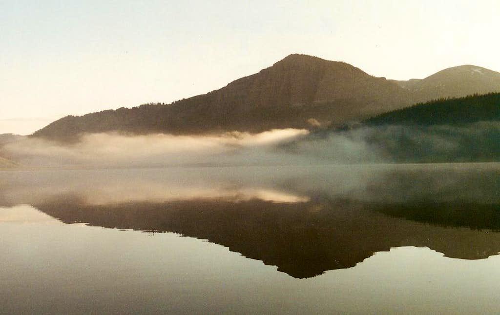 Brooks Lake, Wyoming-- Sunrise