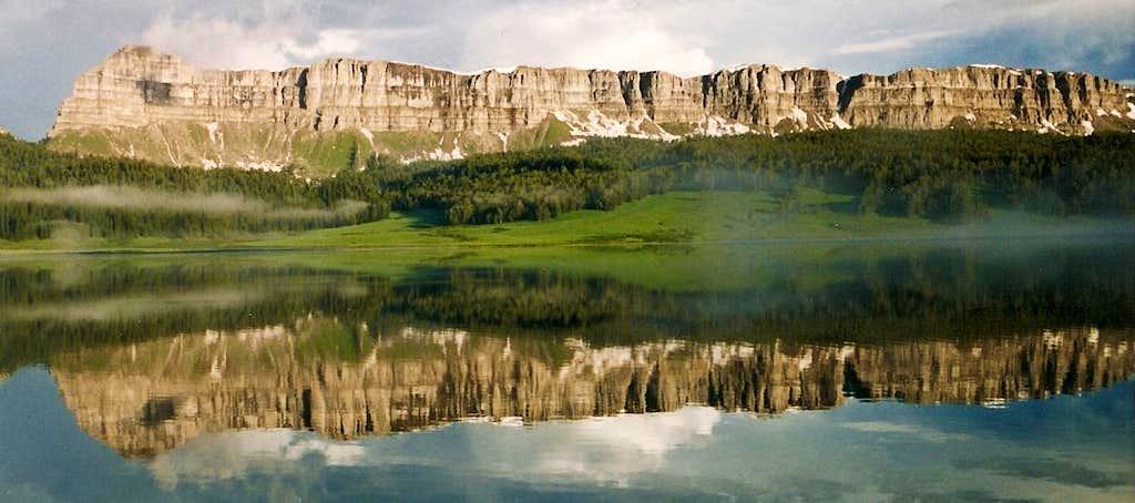 Brooks Lake Cliffs