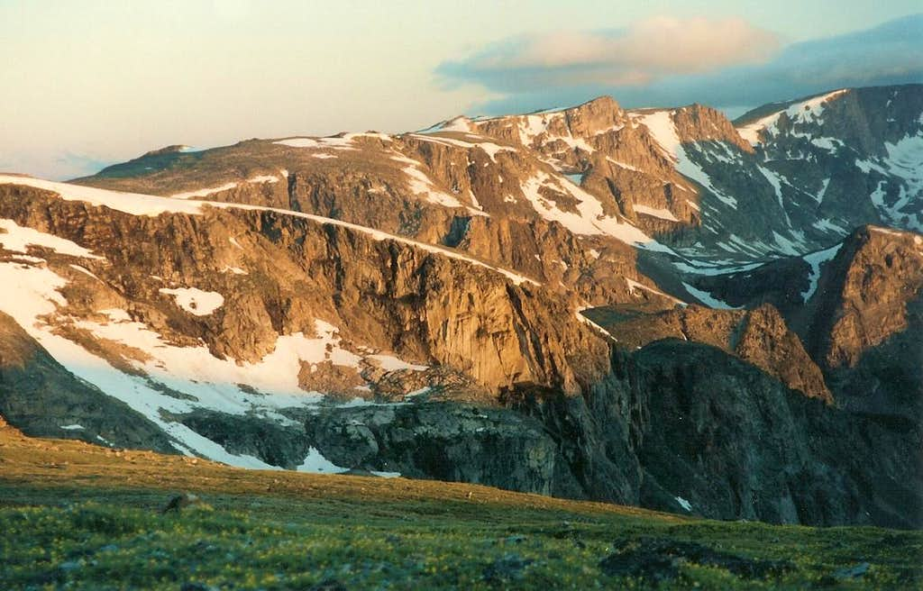 Dawn from Beartooth Pass