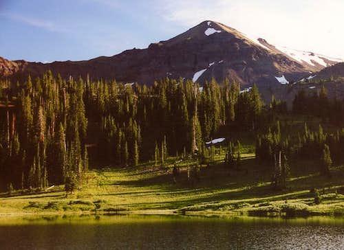 Hyalite Peak, Sunset