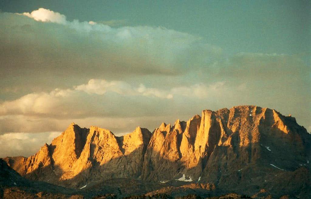 Fremont Peak, Sunset