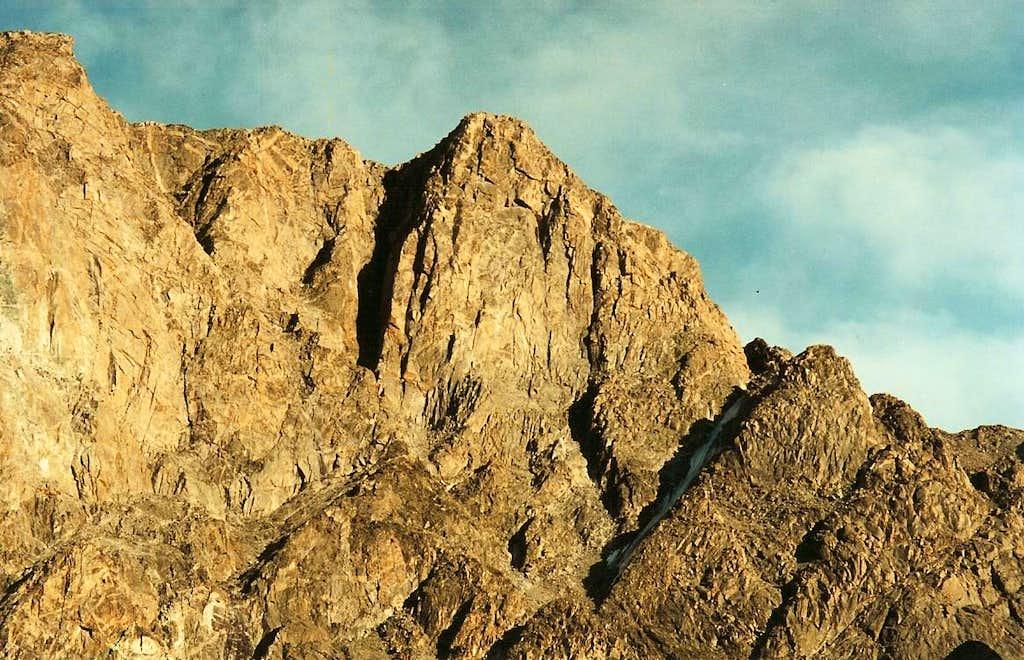 Cliffs above Wilson Meadows