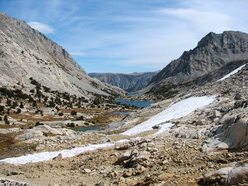 Approach to Piute Pass