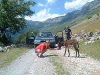 Albania Road Crew \'06 on tour
