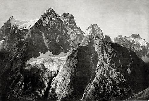 Mont Pelvoux - Pic sans Nom