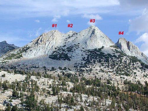 Echo Peaks #'s 1-4 (9 total)...