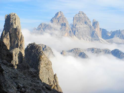 """Tre Cime"" from south"