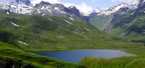 Lago Verney, La Thuile