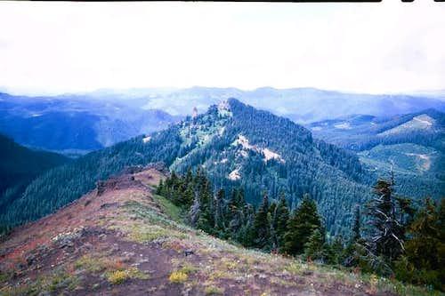 Iron Mountain from the summit...