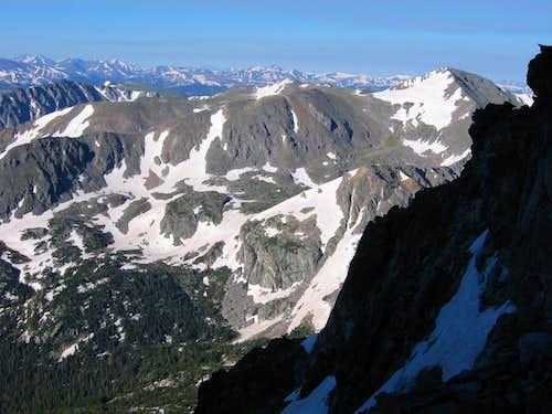 Jasper Peak from Skywalker Couloir