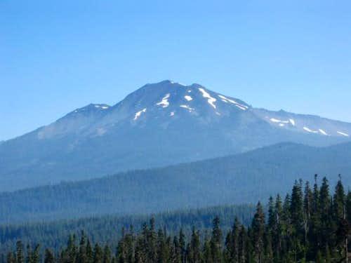 Approaching Diamond Peak from...