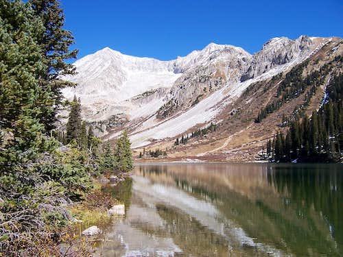 Snowmass Mountain and Geneva Lake