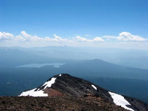 View of false summit from...