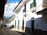 Calle Jose Olaya in Huaraz 1970 Earthquake Building Survivors