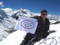 Ishinca Summit
