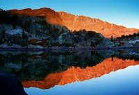 Sunset on Mount Lester