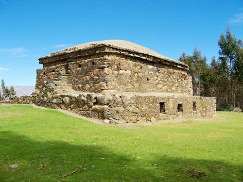 Willkawain Ruins, near Huaraz