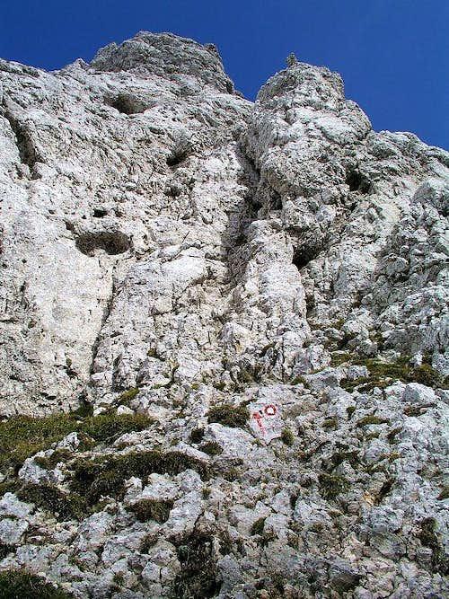 Kalski greben route