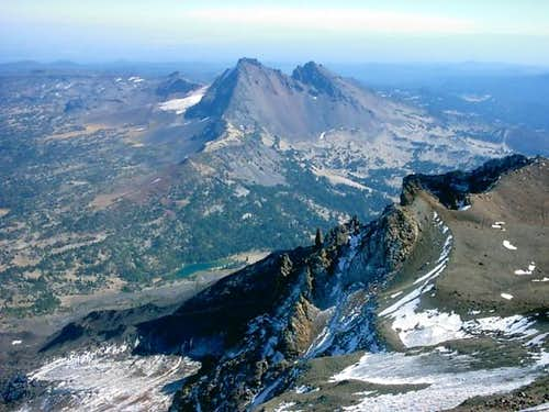 View of Broken Top from South...