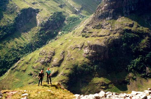 Taking a breather whilst on the ascent.