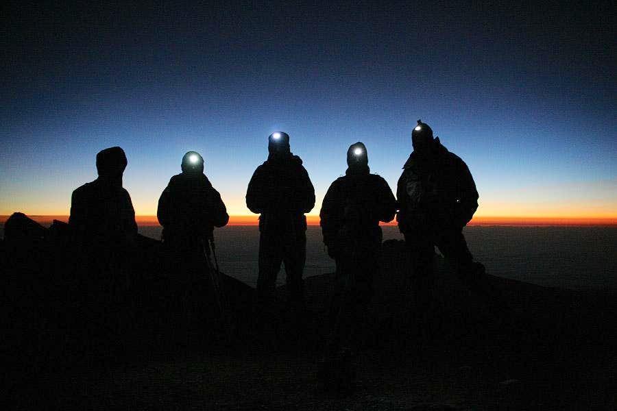 Sunrise in Kilimanjaro