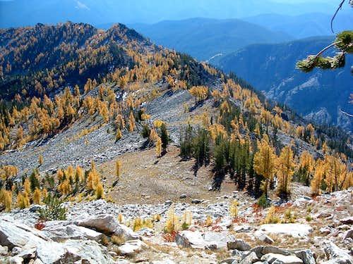 Approach to Summit Ridge