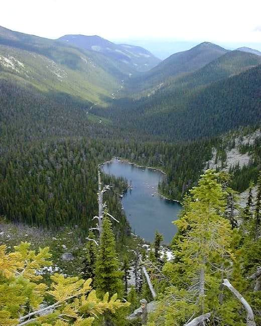Pyramid Lake and the Forest...