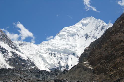 North Face of Shimshal Whitehorn
