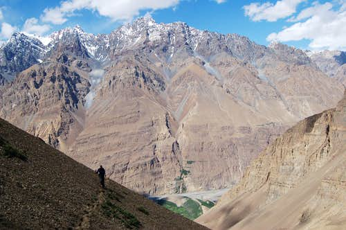 Climb to Shimshal Whitehorn's base camp