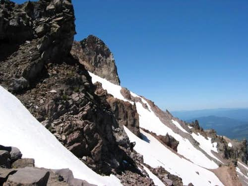 Glaciated north face. July 4,...